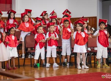 Culto de Gratidão a Deus pela conclusão da Educação Infantil no Seminário Teológico do Sul do Brasil