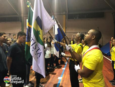 2º Segmento - Momento Cívico da Independência e o lançamento do projeto: Viva+ Vida.