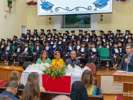 Culto de Gratidão a Deus pela conclusão do 5º ano