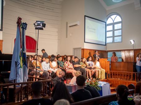 Culto de Gratidão a Deus pela conclusão do Ensino Fundamental - 9º ano