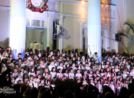 Cantata de Natal no Colégio Batista Shepard