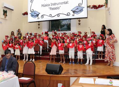 Culto de Gratidão a Deus pela conclusão da Educação Infantil na Igreja Batista Itacuruça