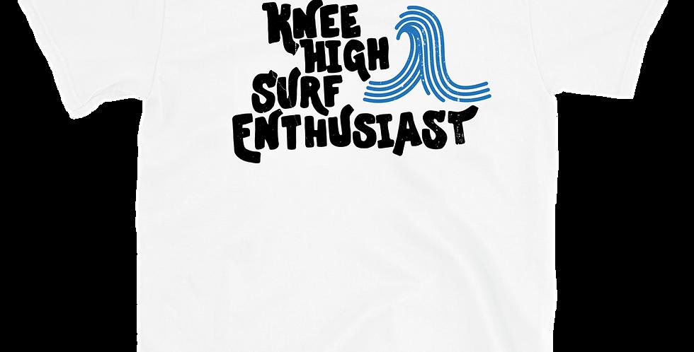 Knee High Surf Enthusiast Tee - White