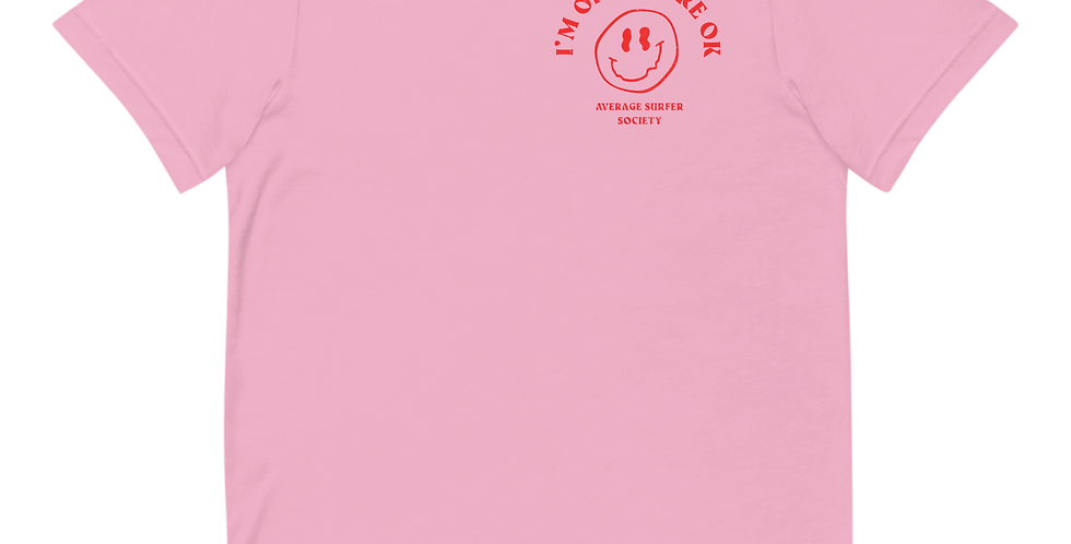 Average Surfer Society Tee-Pink