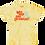 Thumbnail: Knee High Surf Enthusiast Tee - Sunburst Yellow Tie Dye