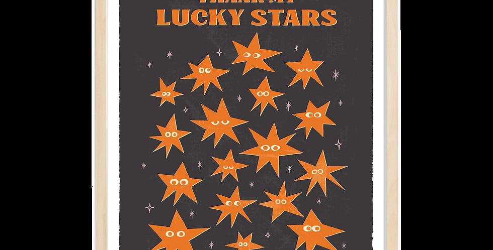 Thank My Lucky Stars- Orange