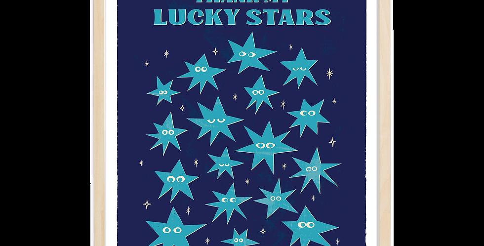 Thank My Lucky Stars- Blue