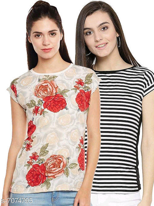 Urbane Glamorous Women T-shirts