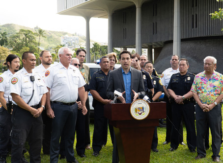 Police, First Responders Urge Lawmakers to Pass Critical Gun Violence Prevention Bills