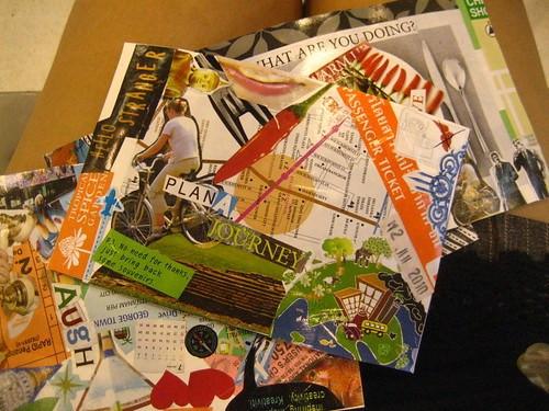 Travel Mail Art