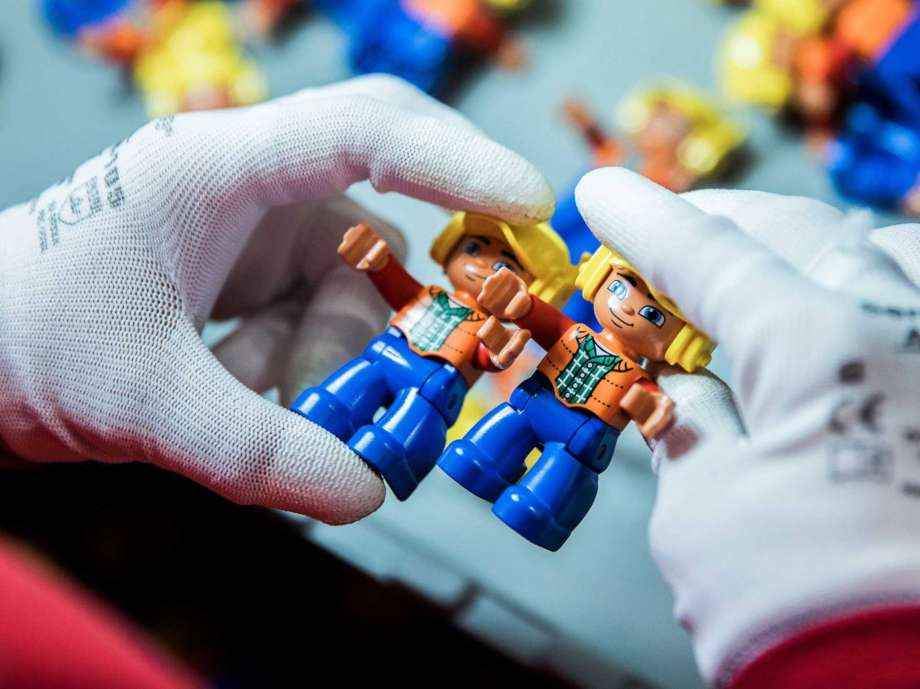 Lego Duplo figurines. Photo: Bloomberg Photo By Akos Stiller / Bloomberg