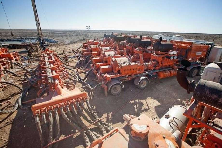 Fort Worth oilfield service company Basic Energy Services is exiting the hydraulic fracturing business amid the ongoing shale slump. Photo: Basic Energy Services