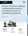 NANOBASE Raman and PSI Analysis of Transferred Graphene Application Note