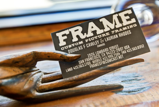 FRAME—Business card