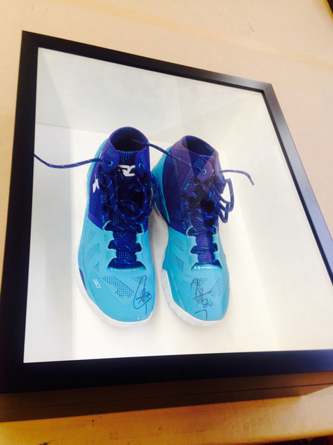 FRAME—Signed Curry's