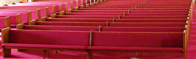 Complete Pew Refinishing and Reupholstery