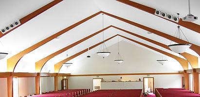Church Lighting Renovation of Church Interior