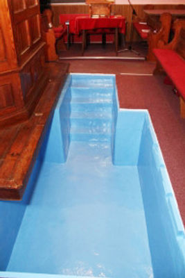 Baptistries, Portable Baptistries, and Dry Minister Baptistries