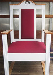 Church Clergy Chairs for Church Renovations and Church Interiors