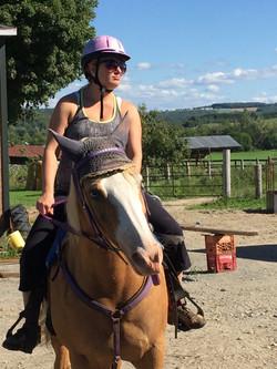 Ballade à cheval.