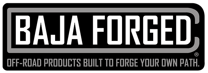 Baja forged logo with tag line_full colo