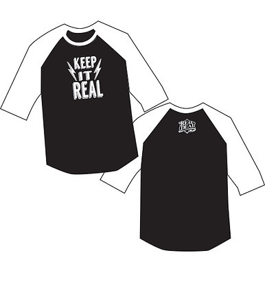KEEP IT REAL KIDS BASEBALL T