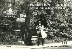Photo Laurent Danchin, 1989