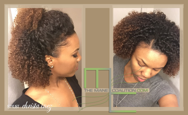 curly sew-in etensions
