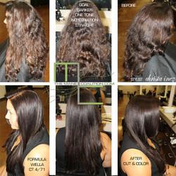 long hair haircolor
