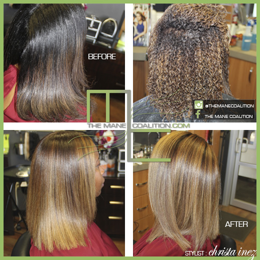 natural haircolor highlights
