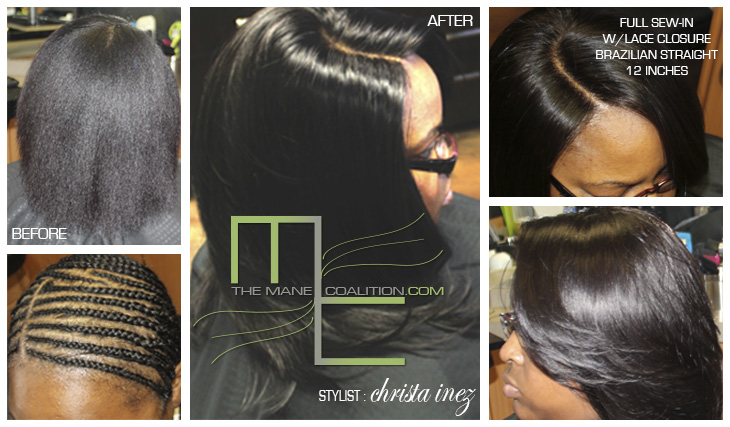 closure sew-in extensions