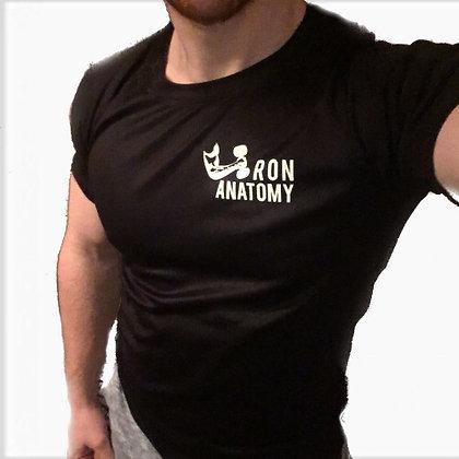 Iron Anatomy Black Compression Shirt