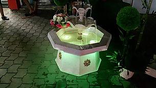 Küçük Sekizgen Süs Havuzu ve Bahçe Havuzu