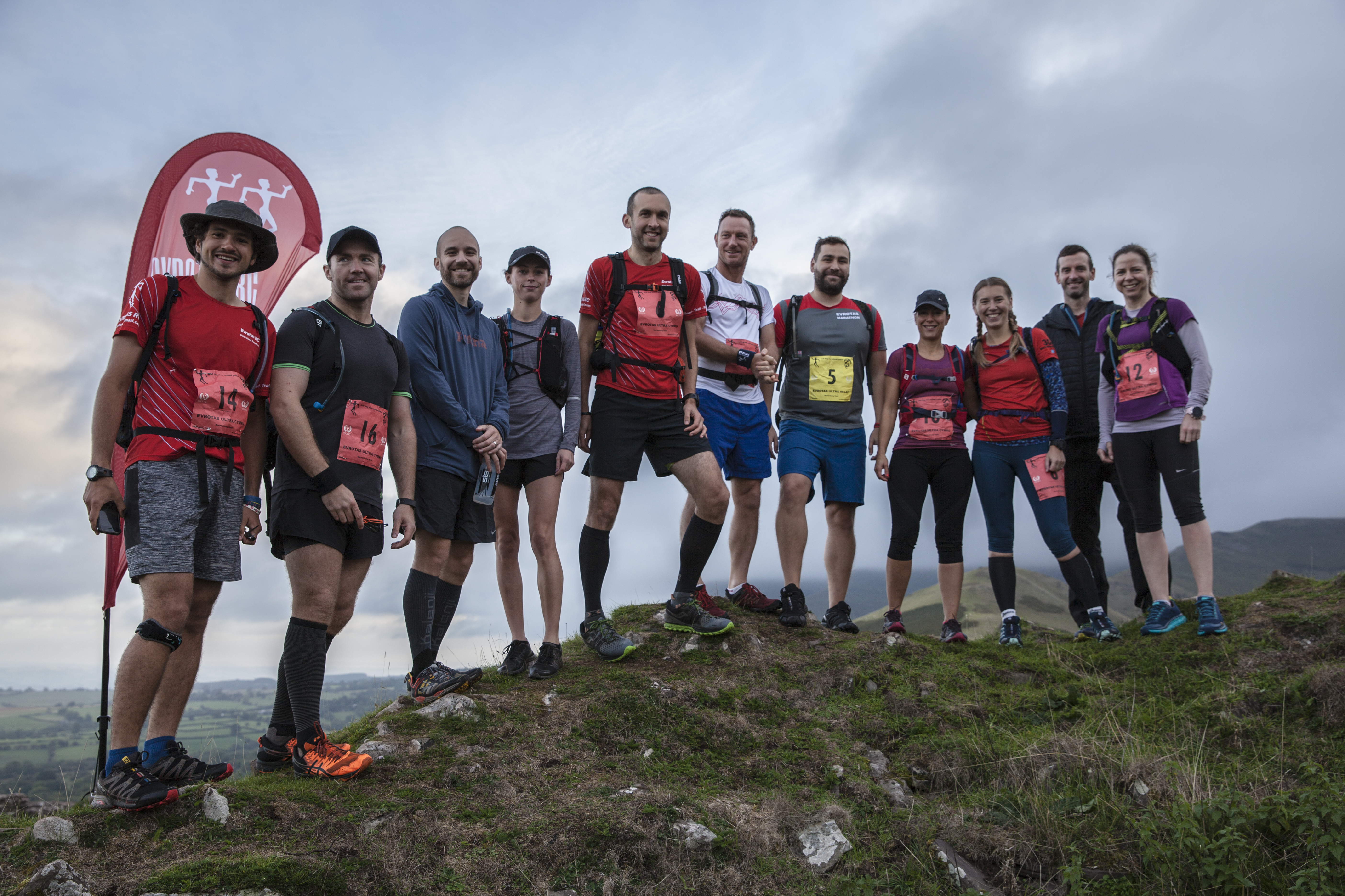 The team at the Ultra 70k start