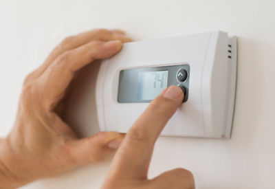 Thermostat temperature being altered