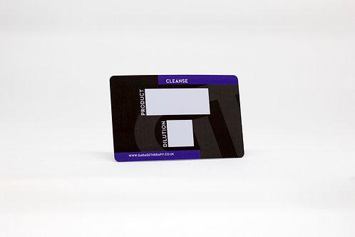 GT Identification Card for IK Sprayers