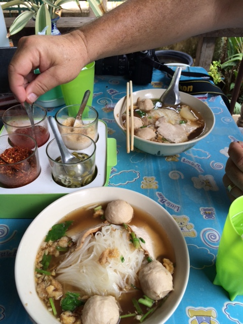 Fish ball rice noodle