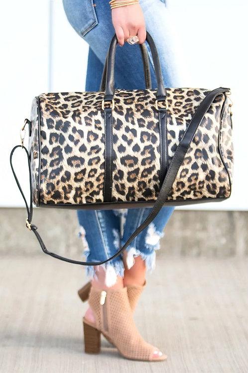 Leopard Getaway Bag