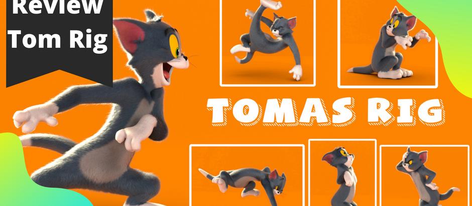 Tom Rig - Rig de animación para Maya - Gratis