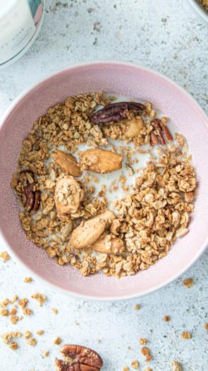 Chai-granola