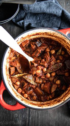 Munakoiso-kikhernepata (vegaaninen, gluteeniton)