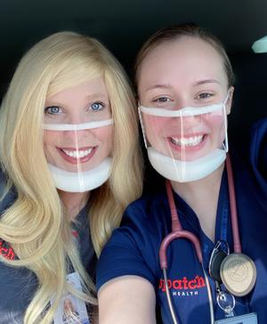 clearmask infirmiere malentendante