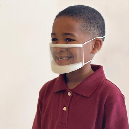Enfant ClearMask™ EZ-Adjuster - Boîte de 24 masques