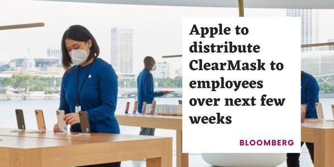 clearmask Apple employees
