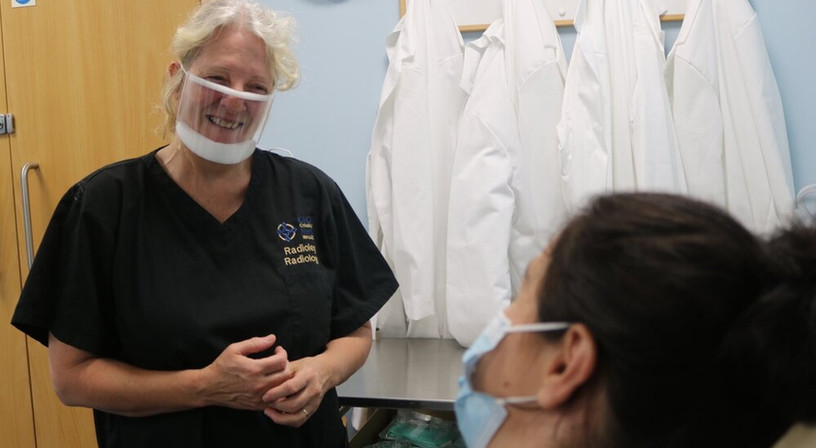 masque fenetre soin infirmier