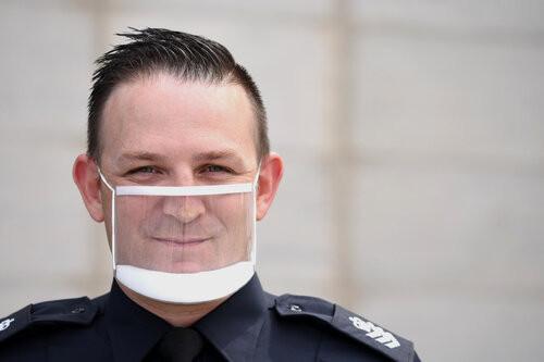 clearmask policier