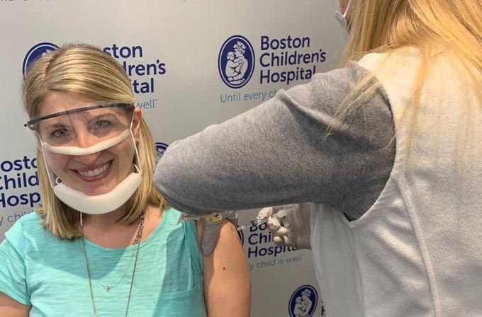 masque transparent vaccination