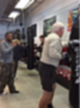 Parkinson's Jacksonville Boxing Physical Therapy with Rock Steady Boxing
