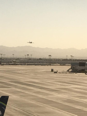 POTUS landing at KLAS