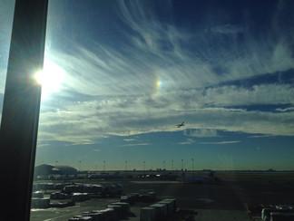 Sun Dog at KJFK